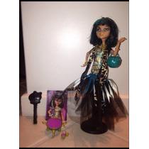 Boneca Monster High Cleo De Nile Ghouls Original Completa