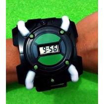 Ben10 Relógio Horas Digital Com Luz E Som Omnitrix Omniverse