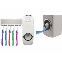 Dispenser Automático Pasta De Dente Suporte Escovas Banheiro