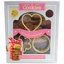 produto Faça Em Casa Cookies Livro Receitas 3 Cortadores De Biscoito