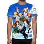 Camisa, Camiseta Anime Digimon Adventure Tri - Estampa Total