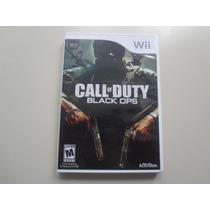 Nintendo Wii - Call Of Duty Black Ops Original Americano