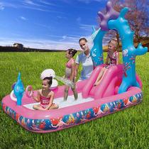 Piscina Playcenter Inflável Com Escorrega Disney - Bestway
