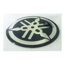 Adesivo Emblema Resinado Yamaha 2,5 Cm Rabeta Carenagem 25mm
