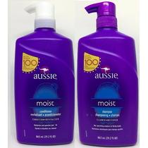 Kit Aussie Moist 865ml Shampoo+condicionador