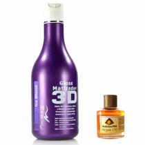 Magiccolor Desamarelador Matizador 3d Ice Blond 550ml + Bnde