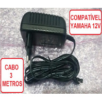 Fonte Teclado Yamaha Psr-240 Especial 2a Plug 90 Graus