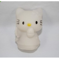 Hello Kitty Iluminada Por Led - Alterna 7 Cores Automatico