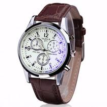 Relógio Masculino Simples Bonito Barato Importado