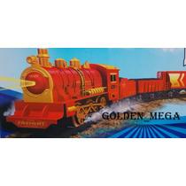 Trem Elétrico Máquina Locomotiva Maria Fumaça-fumaça Real