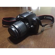 Máquina Fotográfica Digital Canon Eos 1100d -usada