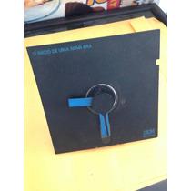 Antigo Relógio Disquete Flexível Promocional Ibm Brasil