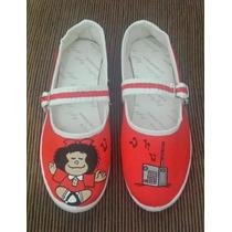 Sapato Sapatilha Sacola De Pano Customizado Lembrancinha