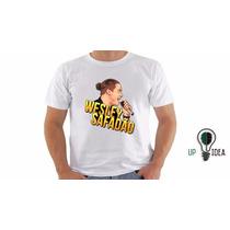 Camiseta Wesley Safadão (forró, Arrocha)