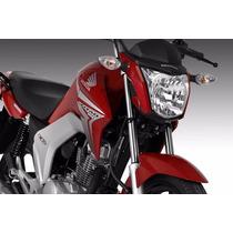 Paralama Dianteiro Vermelhotitan 150 Ex 2014- Original Honda