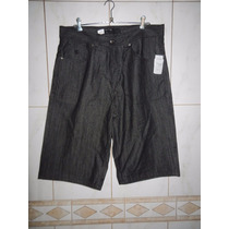Bermuda Jeans Rocawear 38 Usa = 48 Br Nova Pronta Entrega Rj