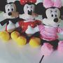 Mickey Ou Minnie De Pelúcia - 45cm - 01 Unidade