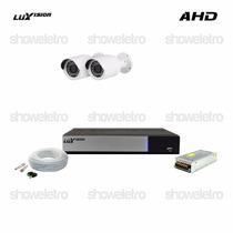 Kits De Monitoramento Ahd Luxvision 2 Câmeras Infra Ahd P2p