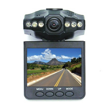Câmera Filmadora Veicular Hd Dvr Visão Noturna E Visor Lcd