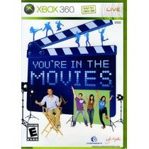 Jogo Novo Lacrado Youre In The Movies Para Xbox 360