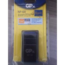 Bateria Filmadora Sony Np-68 Gp Lacrada