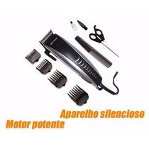 Maquininha De Cortar Cabelo Rifeng 4604-b 127v