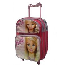 Mochila Escolar Infantil Personagem Princesa Barbie Rodinhas