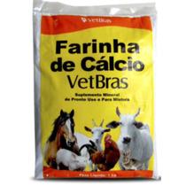 Farinha De Cálcio 1kg Vetbras