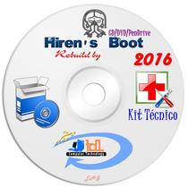 Hirens Boot Cd/dvd E Pen Drive Atualizado 2016 Frete Grátis