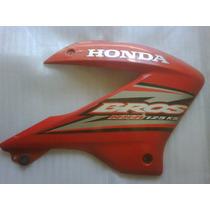 Carenagem Aba Tanque Honda Nxr125 Bros Vermelha 2005