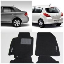 Tapete Carpete Personalizado Nissan Tiida Hatch E Sedan