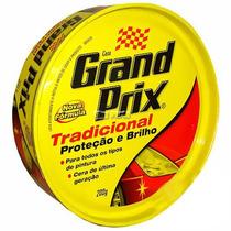 Cera Automotiva Grand Prix Tradicional 200g Proteçao Brilho