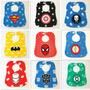 Babadores Para Bebês Saliva Criança Super Herói