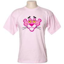 Camiseta Pantera Cor De Rosa,gato Felix,charlie Brow,snoop