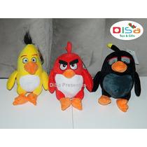 Pelúcias Angry Bird Personagens Do Filme 25 Cm Original
