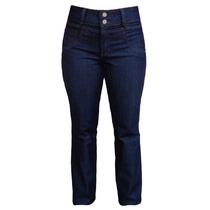 Calça Jeans Feminina (cintura Alta) - Tamanhos 38 Ao 60