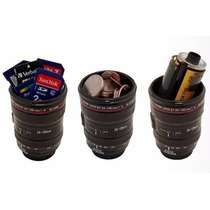 Copo Caneca Termica Lente De Camera Fotografica Canon