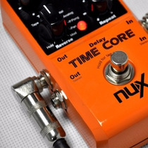 Pedal De Guitarra Nux Time Core Digital Delay +analog+looper