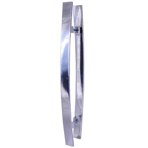 Puxador Em Alumínio Maciço 2006 Nobretal 1000mm ( par )