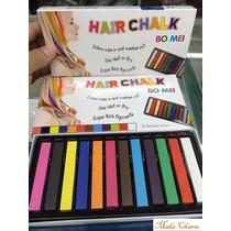 Giz Pastel Para Pintar Cabelo Exotic Colors Cosplay 12 Cores