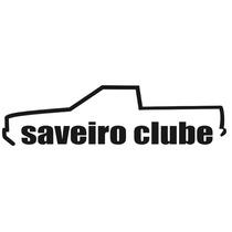 Adesivo Decorativo Parabrisa Carro Club - Saveiro Clube