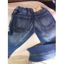 Calça Jeans Tigor T Tigre Original Coleção 2015 Tam 12