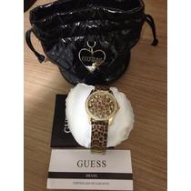 Relógio Guess Original Dourado Feminino Luxo