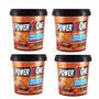 4 Kg Pasta De Amendoim Crocante Power One - Integral