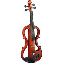 Violino Eagle Ev-744 Elétrico Completo Estojo Arco Frete
