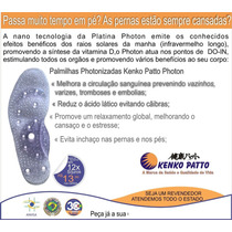 Palmilha Com Reflexologia E Photon