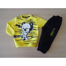 Conjunto Tigor T Tigre Original Baby Blusão E Calça T.mb