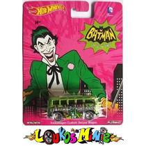 Hot Wheels Vw Custom Kombi Batman Classic Tv Pop Culture