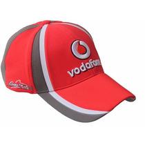 Boné Oficial Vodafone Mclaren Merces Janson Button F1