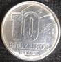 Moeda Antiga De 10 Cruzeiros - 1990 Brasil